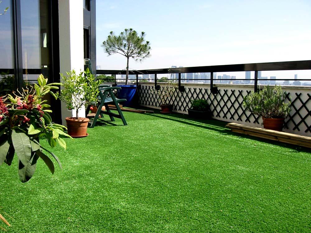 gazon artificiel terrasse
